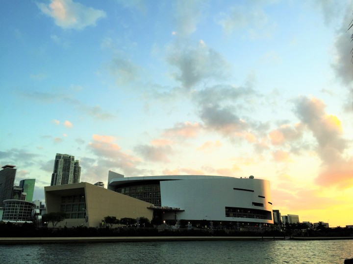 Paisagem com American Airlines Arena - Foto: Enjoy Miami