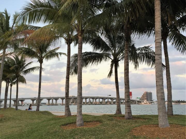 McArthur Causeway ao fundo - Foto: Enjoy Miami